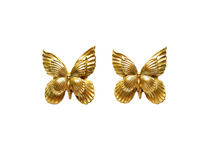 Load image into Gallery viewer, The Pink Reef butterfly stud