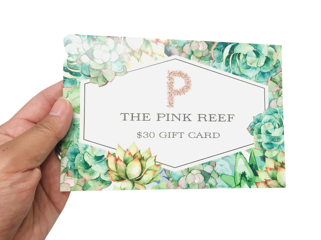 The Pink Reef Gift Card