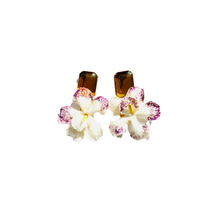 Load image into Gallery viewer, The Pink Reef velvet orchid with citrine top
