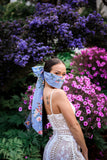 Floral Bow Face Mask