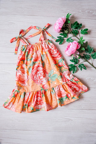 * MADE TO ORDER: Sweetest Summer Ruffles Kids Dress