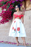 * MADE TO ORDER: Kiss and Make Up Midi Skirt