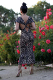 * MADE TO ORDER: The Leopard Dress