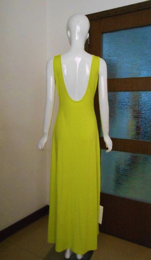 KTR Open Back Maxi Jersey Dress
