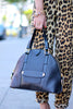 Marc Jacobs Black Leather Bowery Sutton Satchel