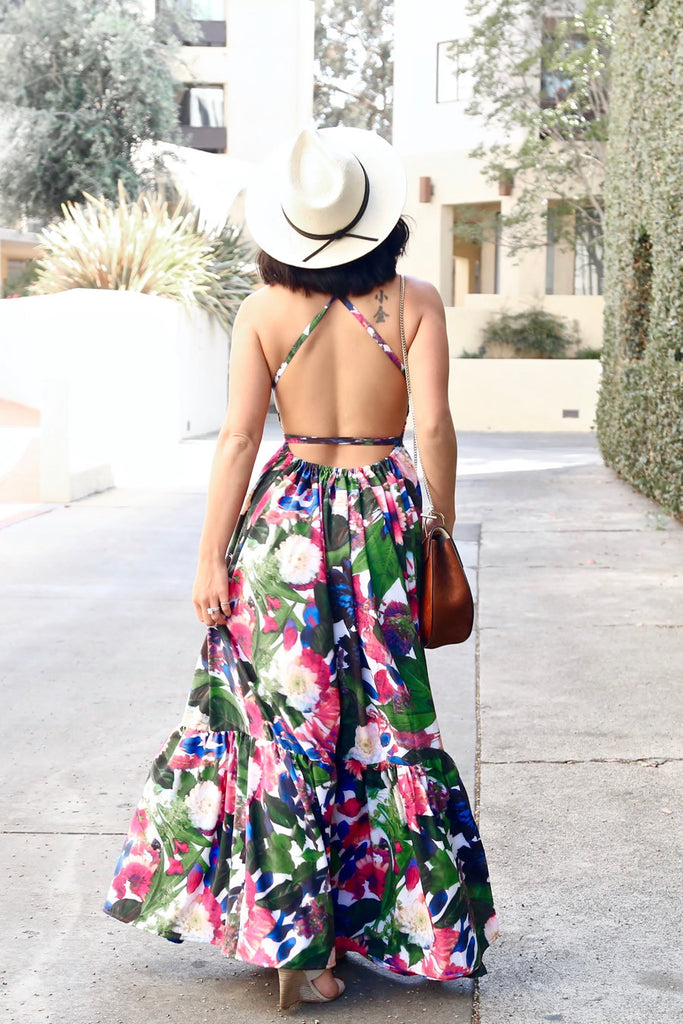 * MADE TO ORDER: Sweet Nothings Ruffles Maxi
