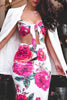 * MADE TO ORDER: Spring Forward Floral Top + Skirt Set