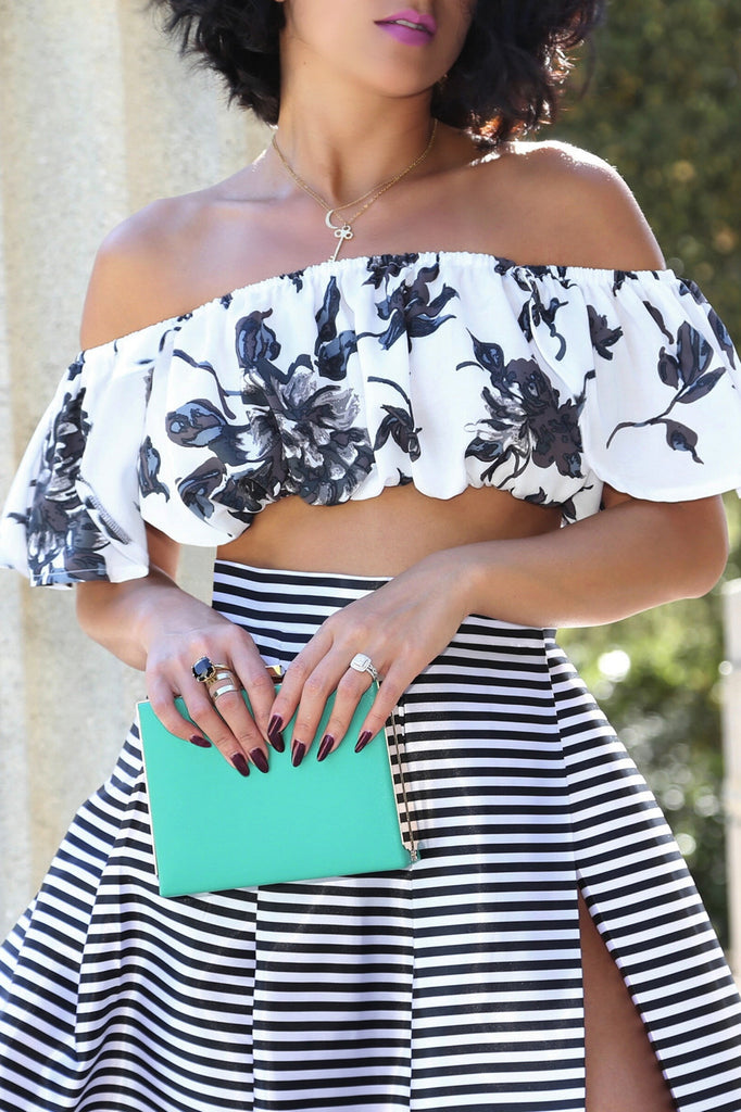 * MADE TO ORDER: The Off-the-Shoulder Top