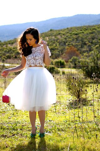 KTRA Carrie Away Tulle Skirt
