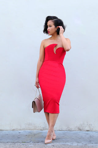 * MADE TO ORDER: The Valerie Bodycon Dress