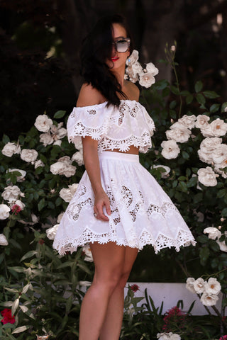 KTR the Sweetest Thing Lace Skirt + Top Set