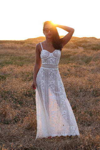 The Lace Maxi Dress