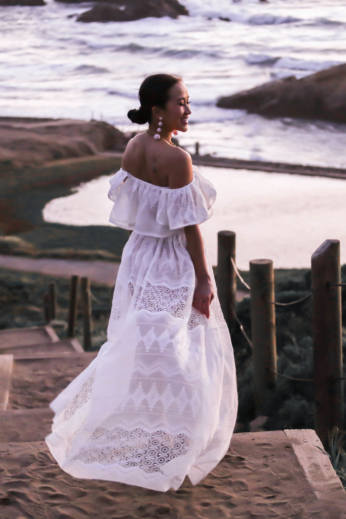 ddafcf75d8c MADE TO ORDER  The Endless Lace Maxi Set (in Ivory) - KTRcollection
