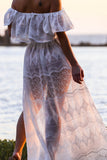 * MADE TO ORDER: The Endless Lace Maxi Set (in Ivory)