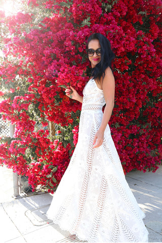* PRE ORDER: The Lace Maxi Dress