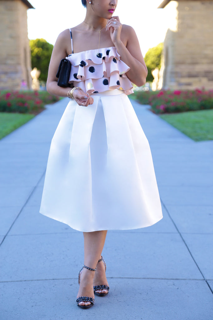 KTR Angelic Midi Skirt