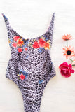 * MADE TO ORDER: One Piece Swimsuit with Low Back