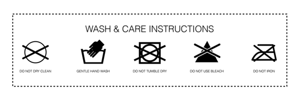Washing Instructions - Smoodh.com