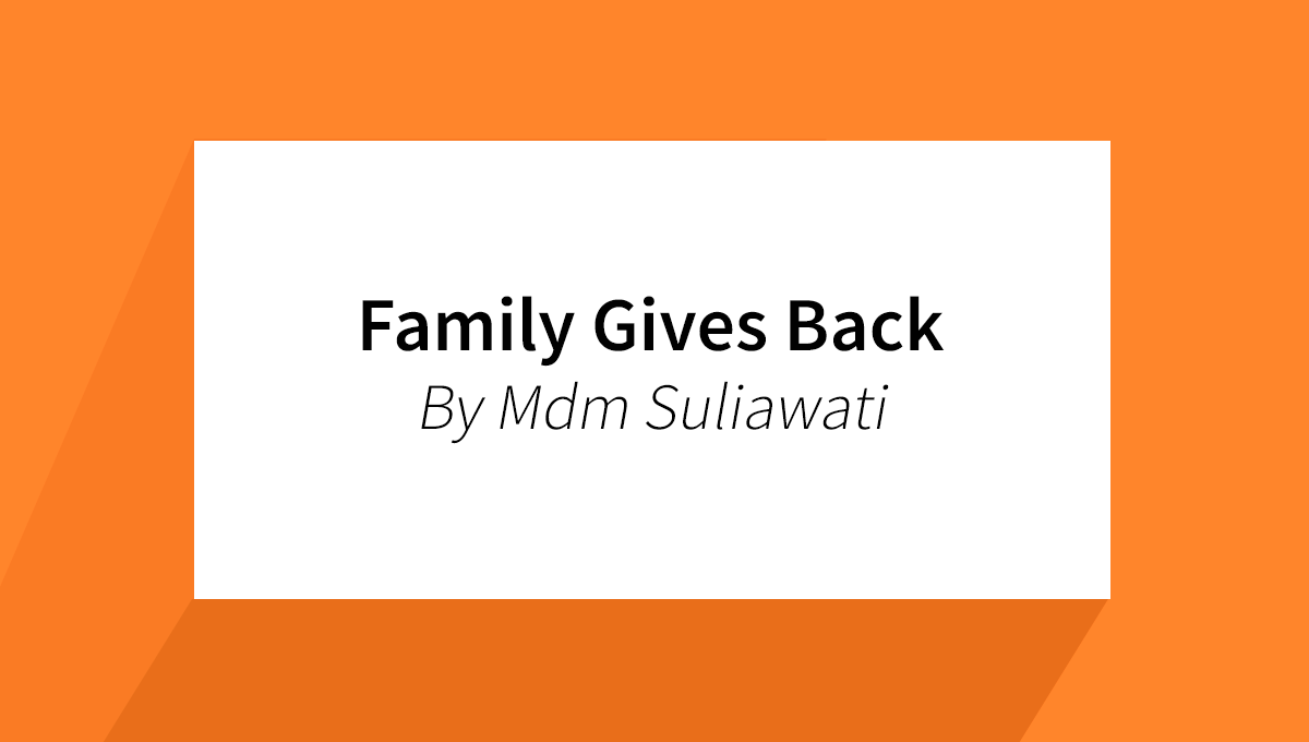 Family Gives Back