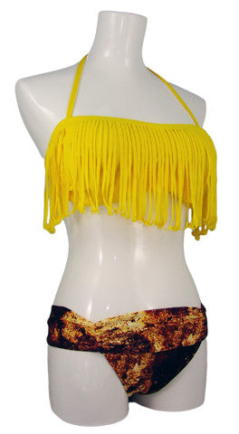 Azedinha Fringe Bandeau Top (more colors)