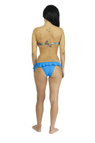 Blue Lagoon Ruffle Side-Tie Bottom (more colors)