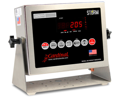 Cardinal, 205 Digital Weighing Indicator, Legal for Trade