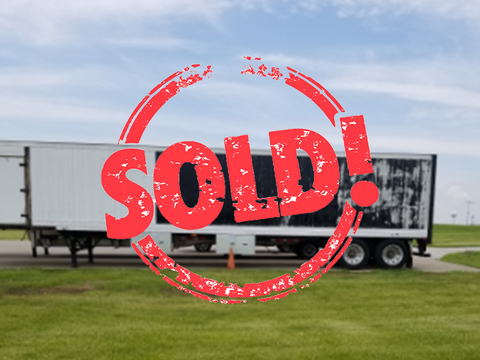 Used Trailmobile 45' Box Trailer with hydraulic crane - For Sale in Iowa