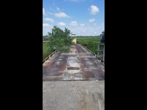Used Cardinal Mechanical Steel Deck Truck Scale 60 x 12 - For Sale in Arkansas