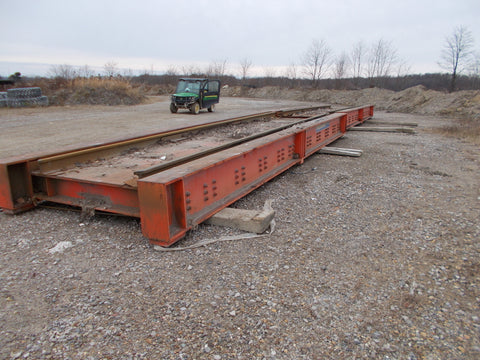 Used 2008 Thurman 8760 Above Ground Railroad Track Scale - For Sale in Ohio