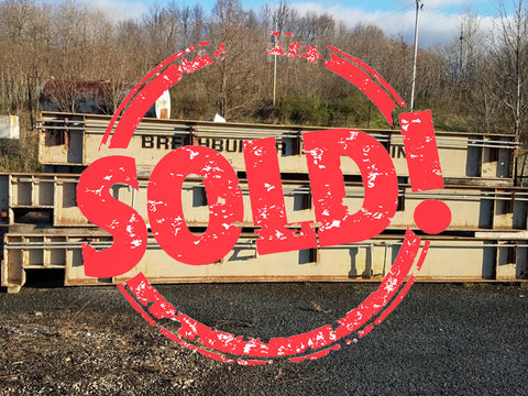 Used B-Tek Steel Deck Truck Scale with Remote Terminal Unit, 70 x 11, 75-Ton Capacity - For Sale in Ohio