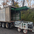Used 24 Foot Long Box Truck with Built-In Hydraulic Crane - For Sale in New Jersey