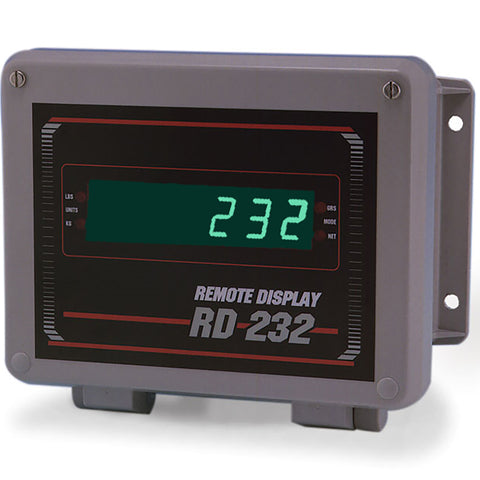 "Rice Lake, 178168, 0.8"" Green LED Remote Display, FRP Enclosure"