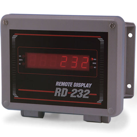"Rice Lake, 32716, 0.8"" Red LED Remote Display, FRP Enclosure"