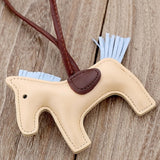 Luxury Handmade PU Leather Horse Key Chain - azponysolutions