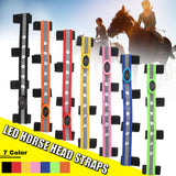 LED Decorative Horse Head Straps