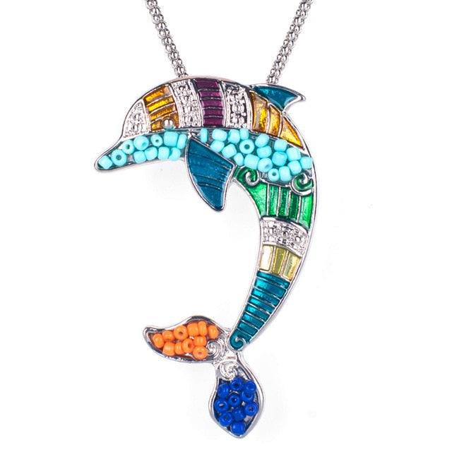 Colorful Horse Necklace - azponysolutions