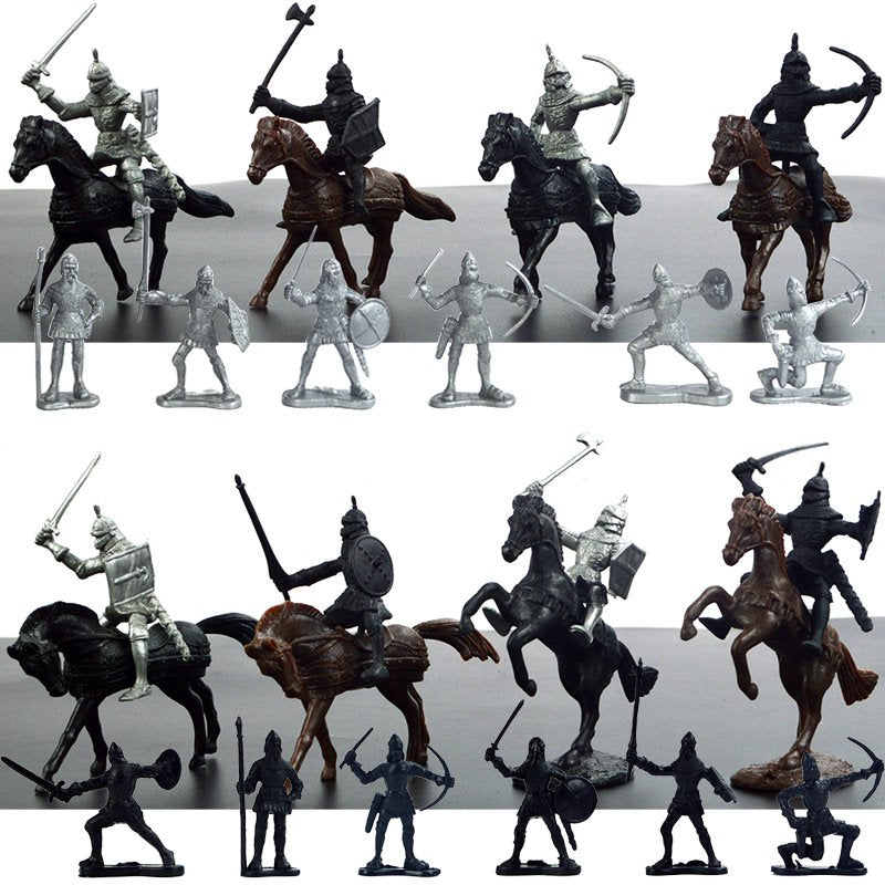 Horses Soldiers Set Figures - azponysolutions