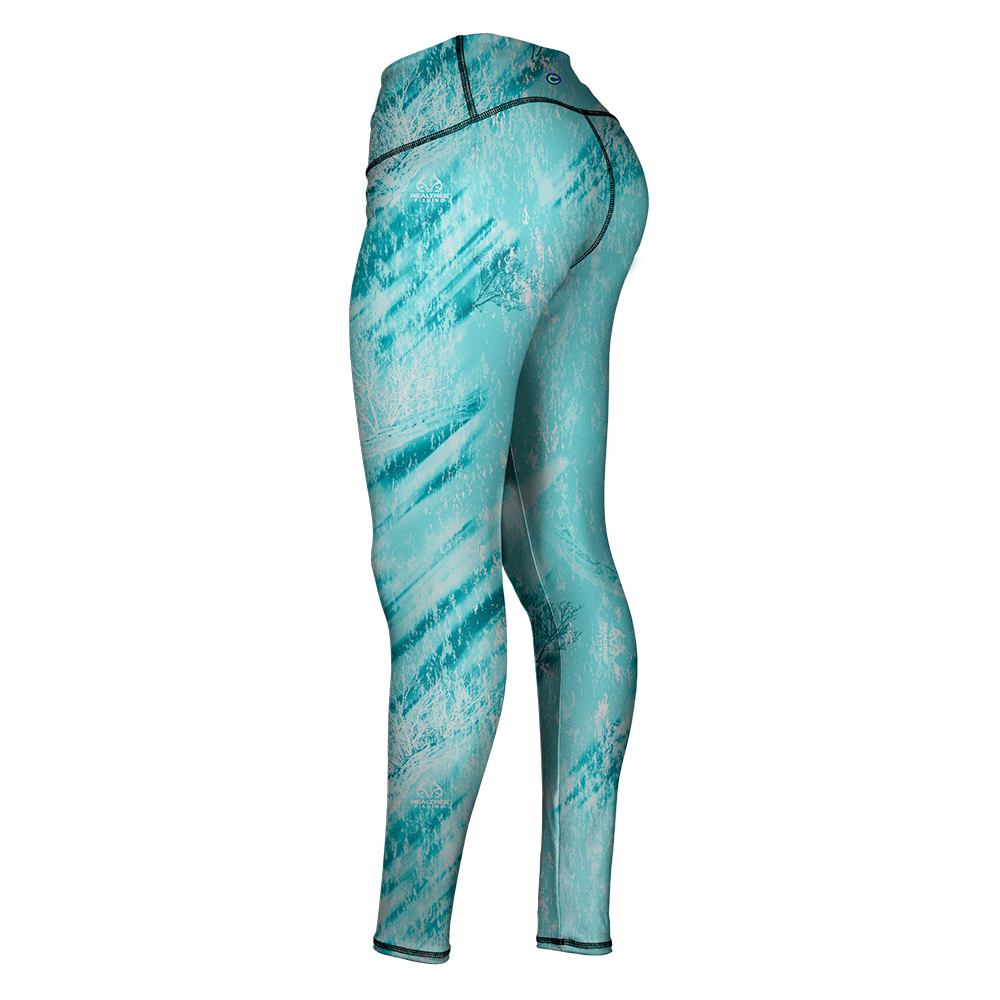 REALTREE FISHING LEGGING - ISLAND BLUE