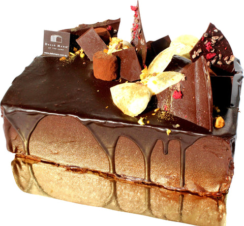 Dello Mano Signature Luxury Brownie Cake- Cake Delivery to Brisbane Metro
