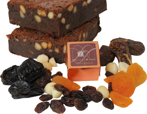 Delicious ingredients for Dello mano Christmas Brownies