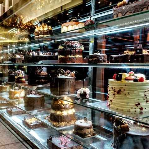 Dello Mano at Tattersalls Arcade - Cake Display