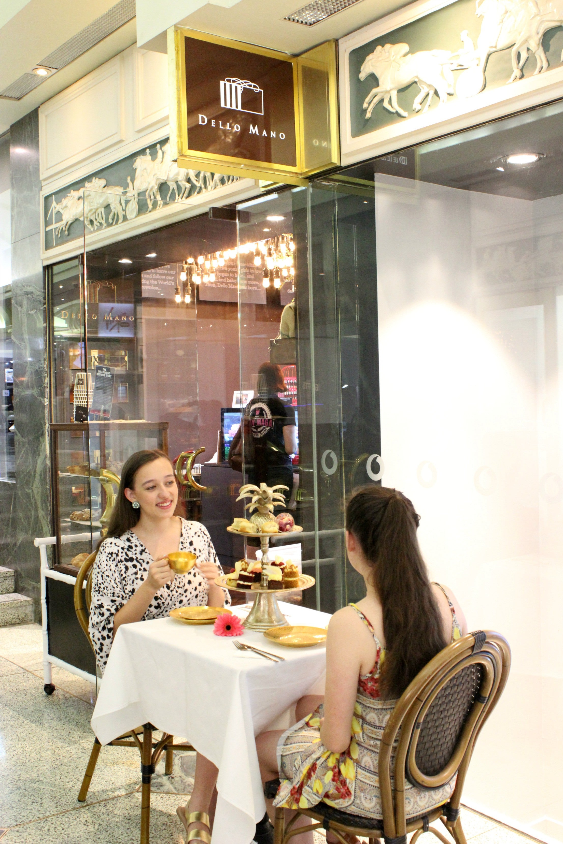 Dello Mano High Tea Tattersalls Arcade