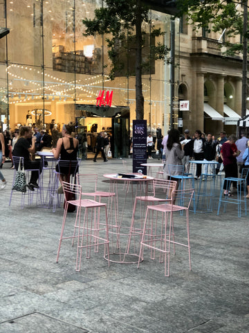 Shop Brisbane initiative provided fun seating for the day in the Mall