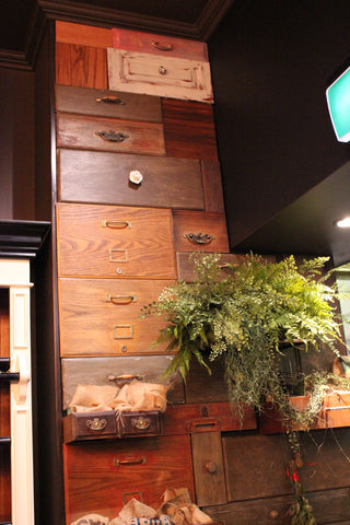 Dello Mano Wall of Drawers at the Tattersalls Arcade Brisbane