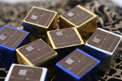 Dello Mano Brownie Foiled Cubes - first launched as Brownie Pioneers in 2006