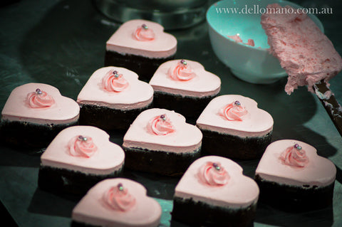 Brownies - Heart Brownie - Dello Mano