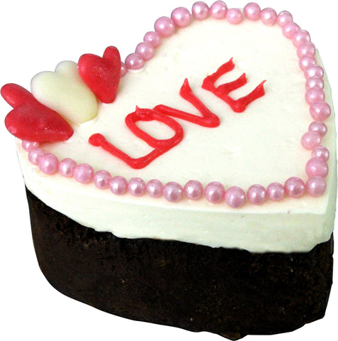 Dello Mano Luxury Brownie Heart Valentines Day Gift