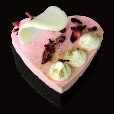 Dello Mano Brownie Heart Valentines Chocolate Gift
