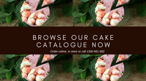 Dello Mano Cake Catalogue Browse Header