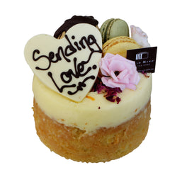 Dello Mano Share the Care Cake Delivery - Orange